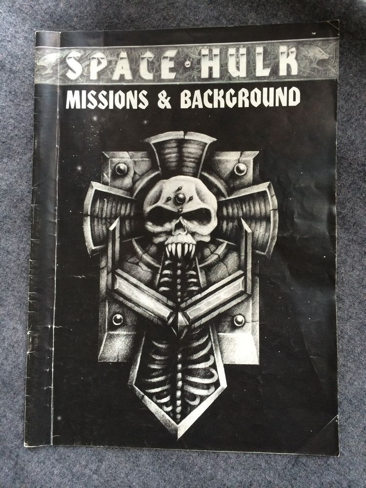 Warhammer 40k Space Hulk 1st Edition Boardgame Missions