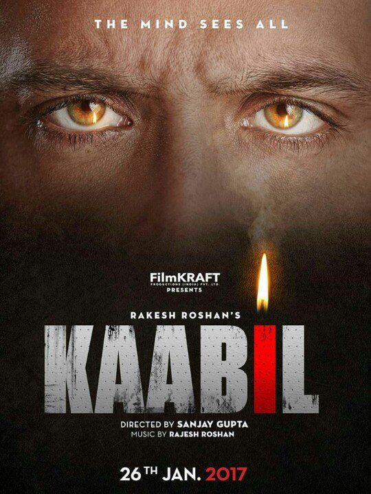 Check out the #Kaabil first look - #HrithikRoshan's intense green eyes will intrigue you ...