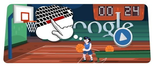 Day 13 Basketball Playable Best Google Doodles Doodles Games Google Doodles