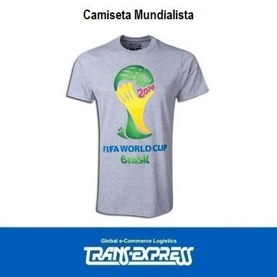 Compra tu camisa mundialista. http://amzn.com/B00DJGFUAM