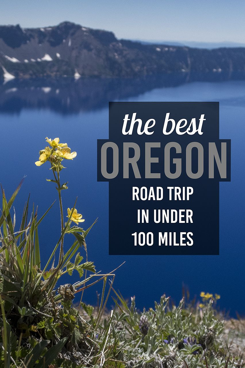 The best Oregon Road Trip in Under 100 Miles. Drive through southern Oregon and experience Crater Lake and the Umpqua National Forest. #craterlakeoregon