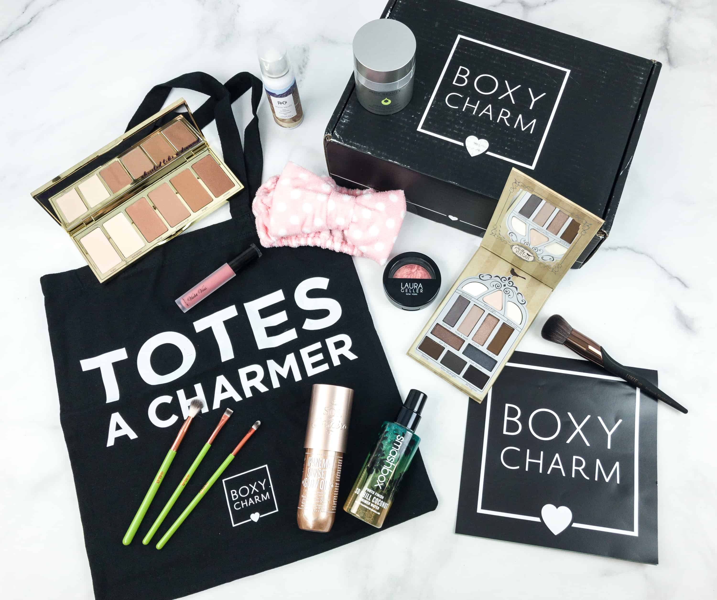 BOXYCHARM September 2018 BoxyLuxe Review   Subscription