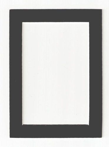 Charcoal - Dark Gray Acid Free Picture Frame Mat, 20x24 After Five ...