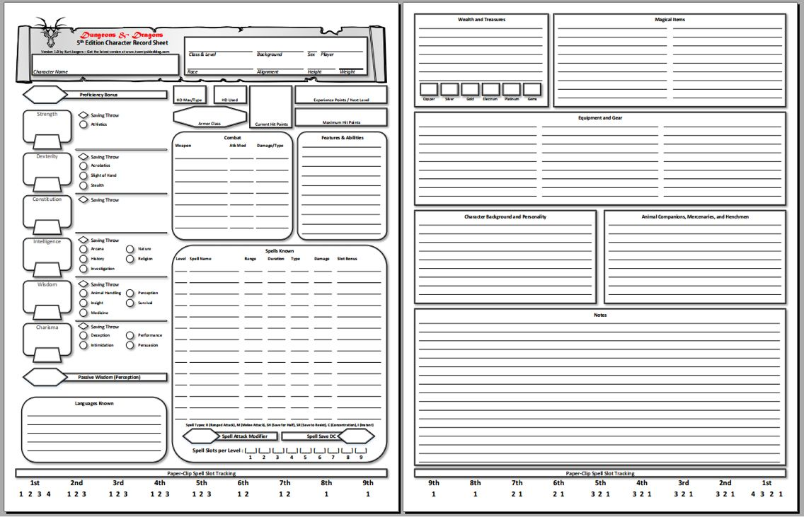Character sheets | Tabletop RP | 5e character sheet pdf, Character