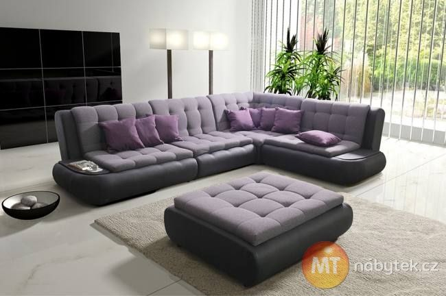 Moderni Sedaci Souprava Gloria 1 Mt Nabytek Sofa Divan Settee Couch Divan Nabytek Moderni