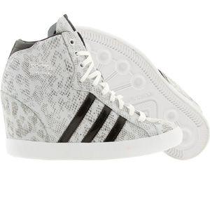 Adidas  mujer Basket Profi (runninwhite / negro) q21910