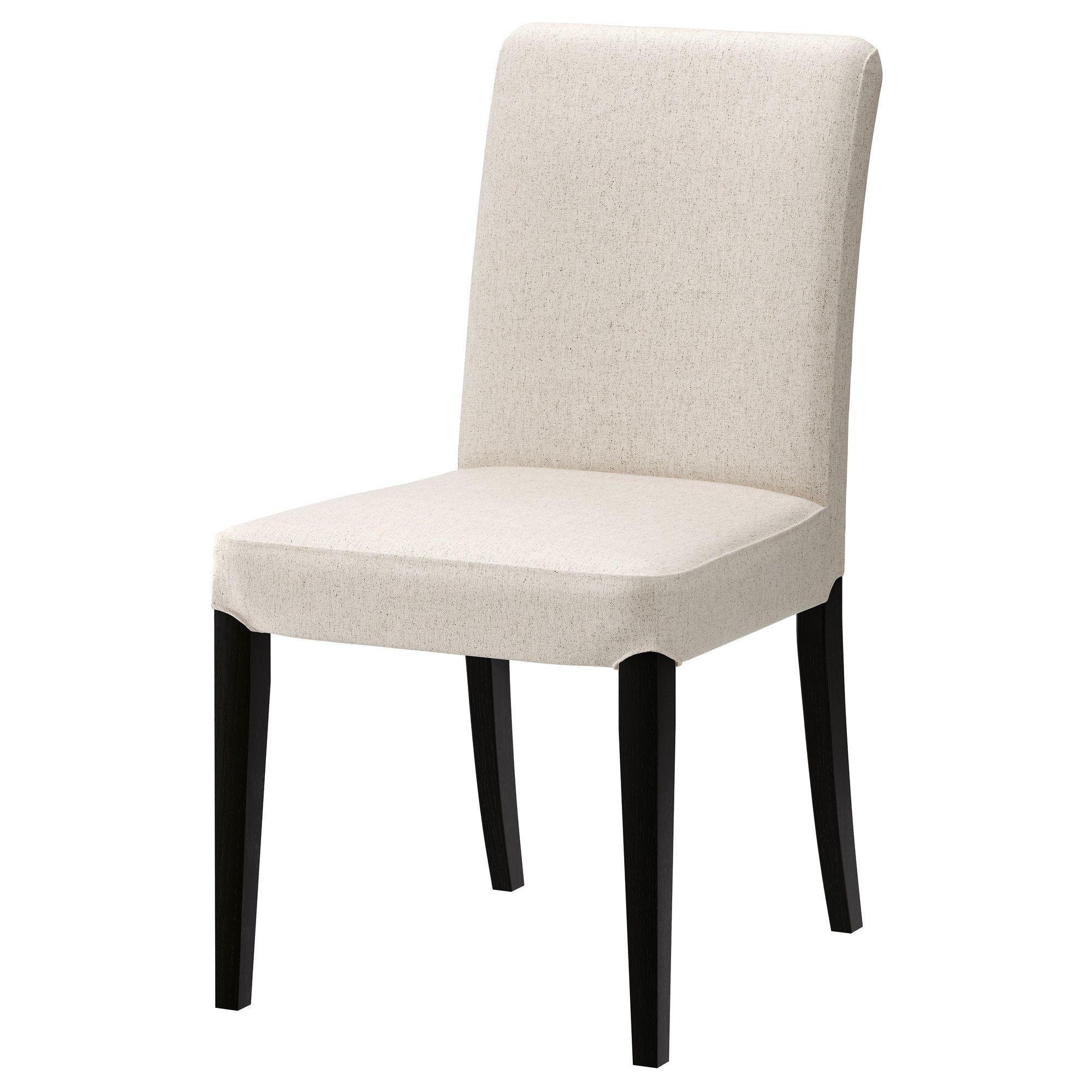 Henriksdal Chair  Linneryd Natural Brownblack  Ikea  My Ikea Brilliant Ikea Dining Room Chair Design Decoration