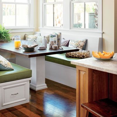 All About Window Seats Space Saving Kitchen Kitchen Banquette And Alcove