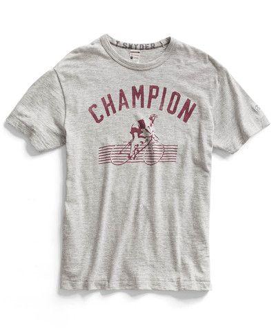 3c3cf15c Oatmeal Heather Cycle Crew T-Shirt | need a boy to dress. | Shirts ...