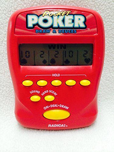 Draw and Deuces Pocket Poker Handheld Game 1997 ** Click ...
