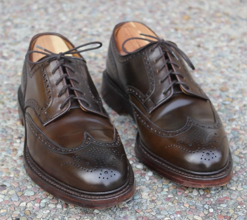 Image result for crockett and jones brown shell