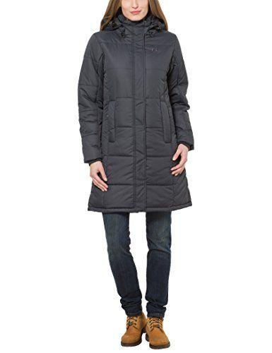Large Smilla Women's Winter Coat X Black Ultrasport Qdsrht
