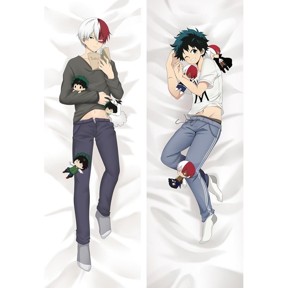 My Hero Academia Izuku Midoriya Dakimakura Hugging Body Pillow Case Cover 150CM
