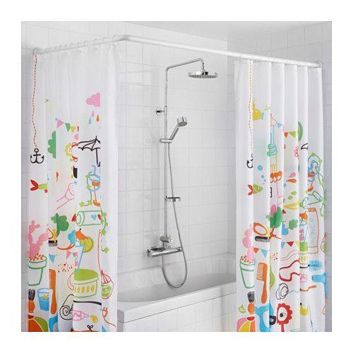 Suisse Amenagement Original Pour Ta Maison Shower Curtain Rods