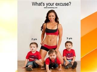 Fitness-trainer mom called out for 'fat-shaming'