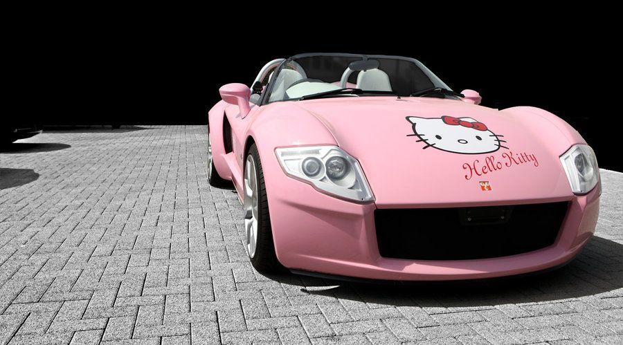 Hello Kitty Cabrio Hello Kitty Car Hello Kitty Pink Truck