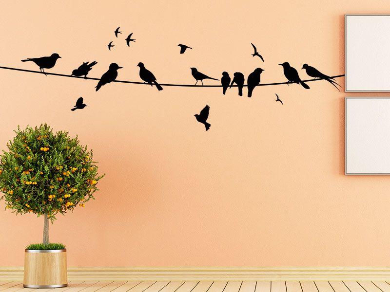 Die besten 25+ Vogel Wandtattoo Ideen auf Pinterest Wallart - Wandtattoos Für Die Küche