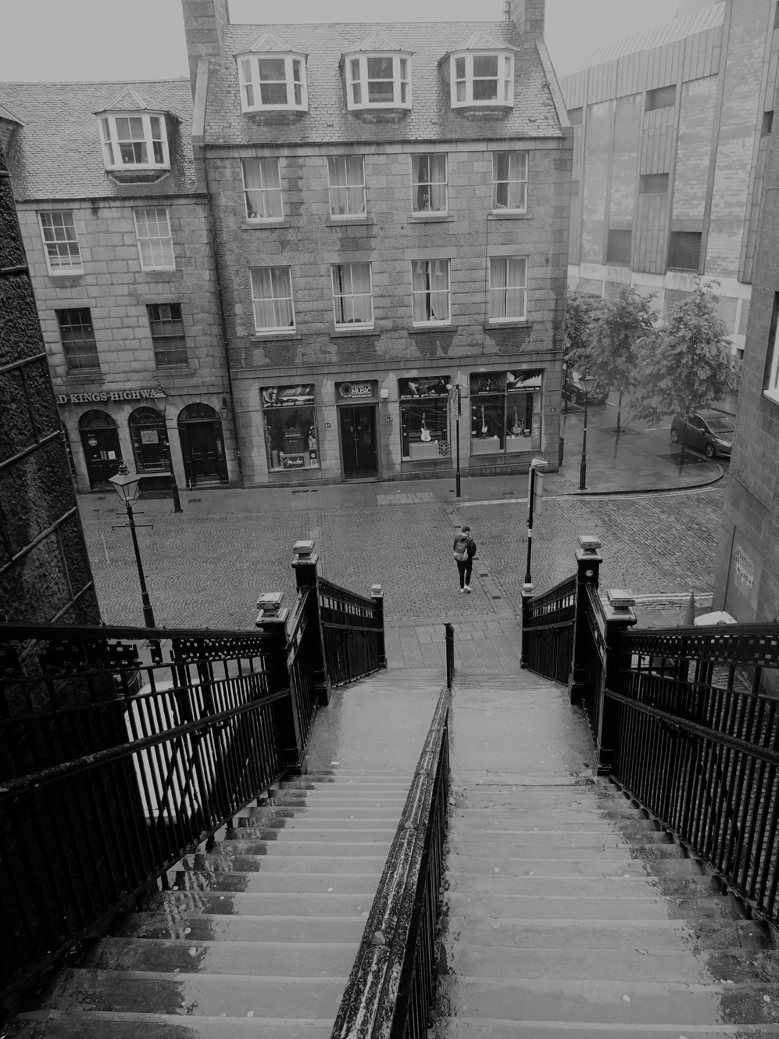 Tickets For Tivoli Theatre Aberdeen Steps Leading From Union Street To The Green Merchant Quarter