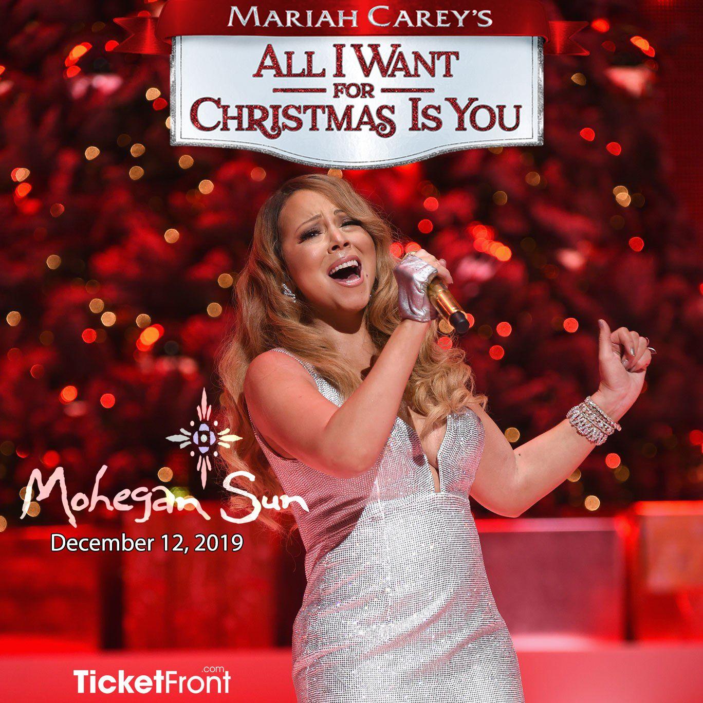 Mariah Carey At Mohegan Sun Arena Mariah Carey Mariah Christmas Tours