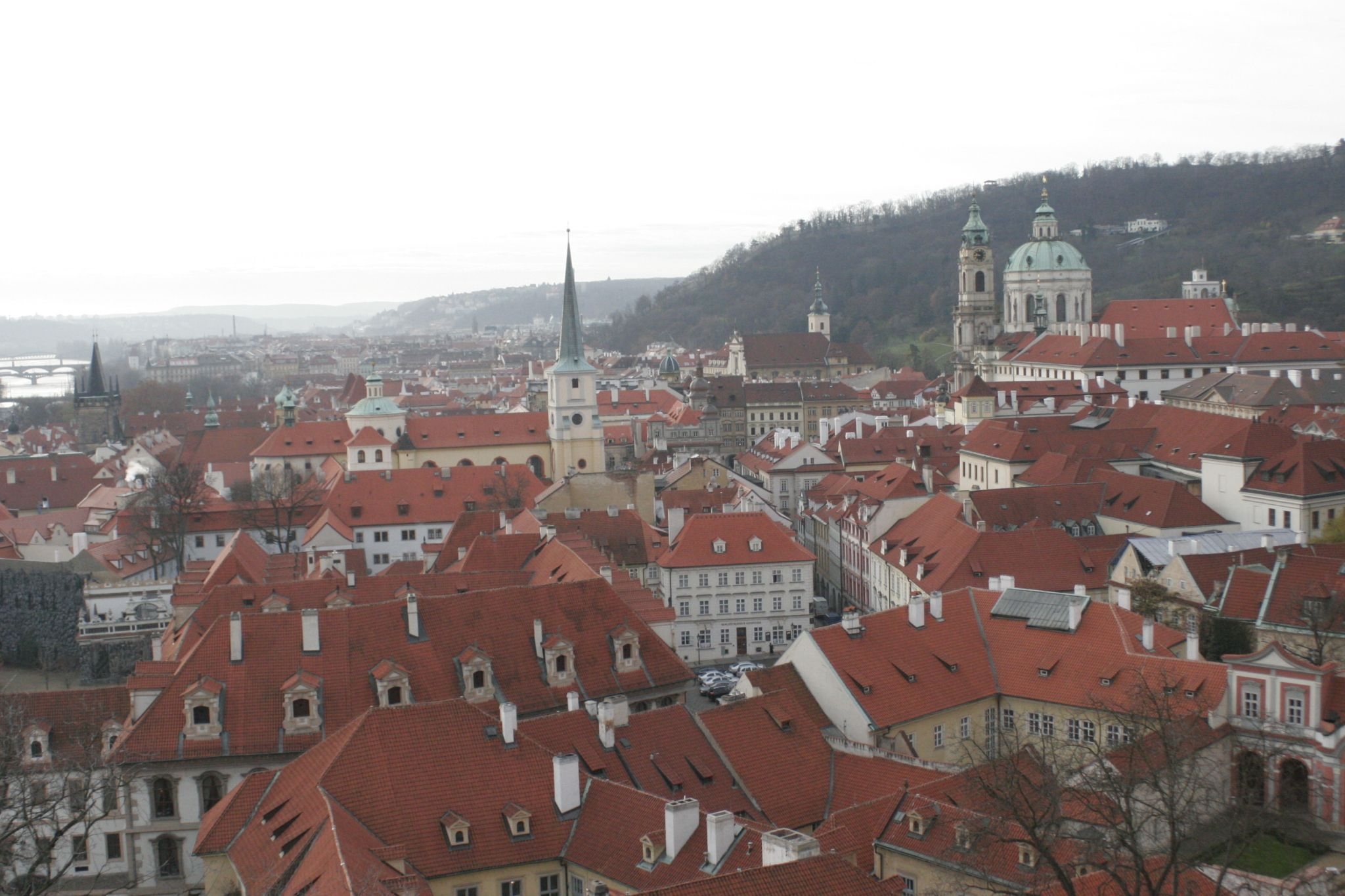 Prague, Czech Republic - View from Prague Castle