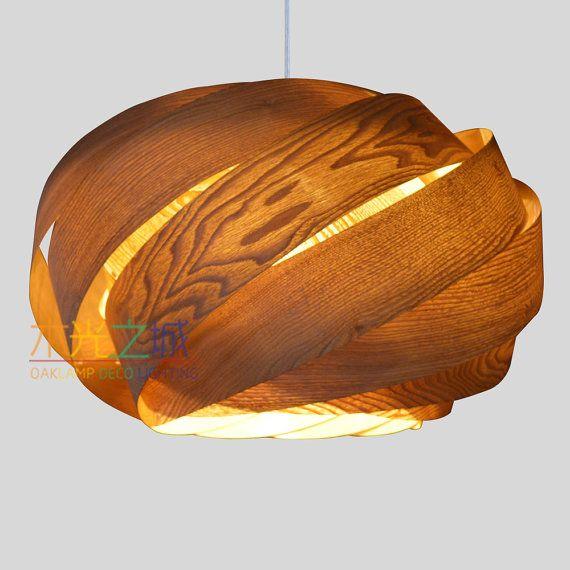 Lovely Hanging Pendant Lighting,Beautiful NEST Pendant Lamp, Made Of Real Chinese  Ash Veneer,unique Design Pendant Lighting Hanging Lamp Good Looking