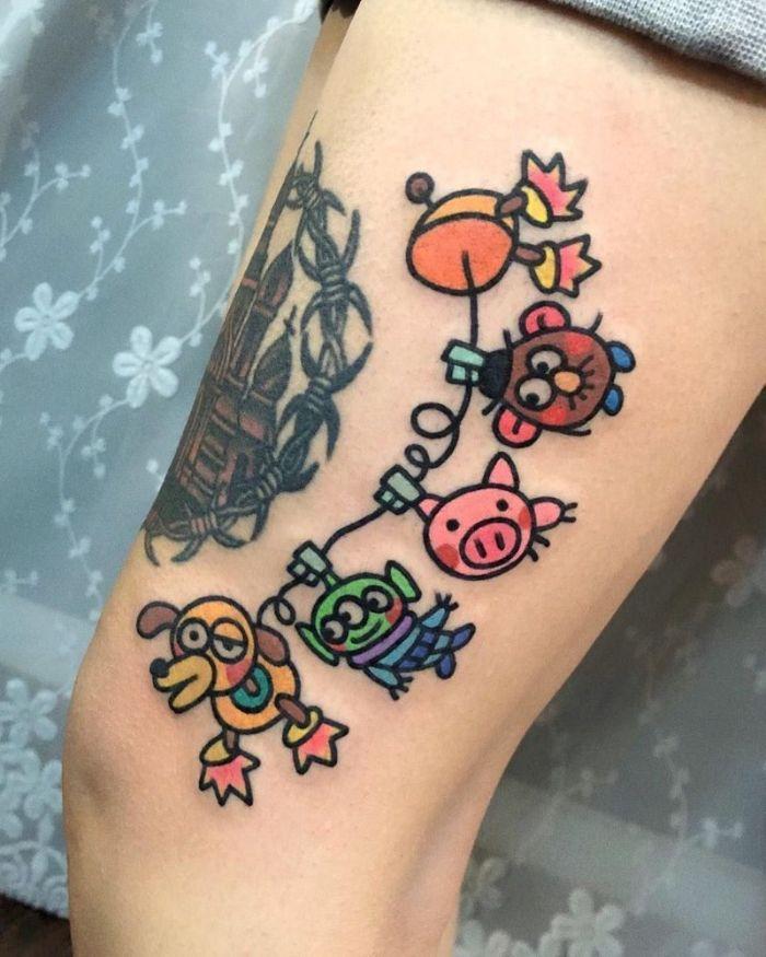 Photo of ▷ 1001 + ideas de adorables tatuajes Disney para volver a la infancia