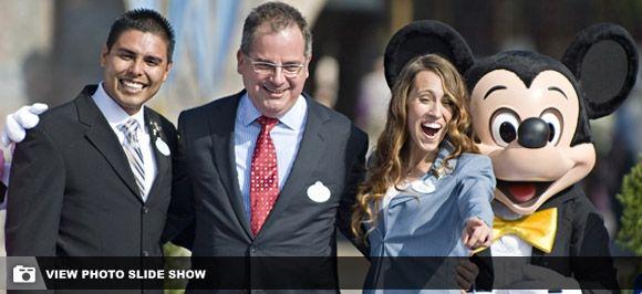 When Jolie became Ambassador of Disneyland