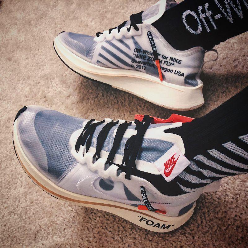 Nike OffWhite Air Max 90 / OW Desert Ore Free Shipping