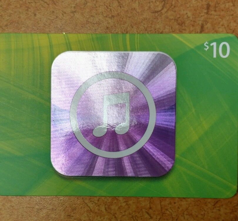 10 itunes gift card