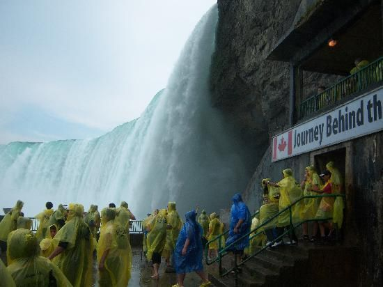 Journey Behind The Falls Niagara Falls Canada Where In The World