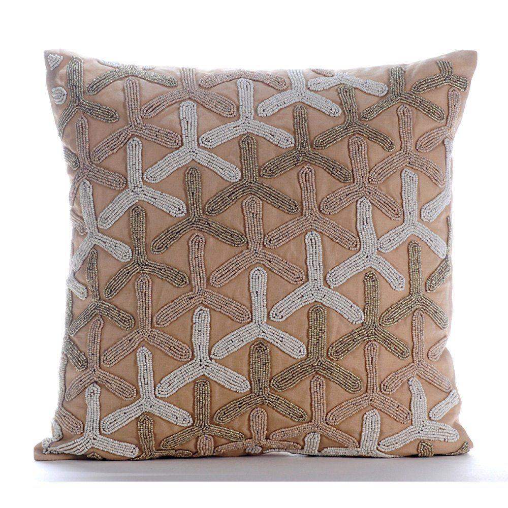Pin By Shrasthi Jain On Pillows Beige Throw Pillows Decorative Pillow Covers Throw Pillows