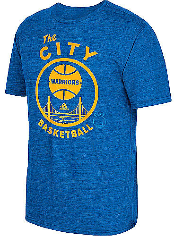b0e5a9796e Golden State Warriors Mens City Ball Tri-Blend Adidas T Shirt  28.00 ...