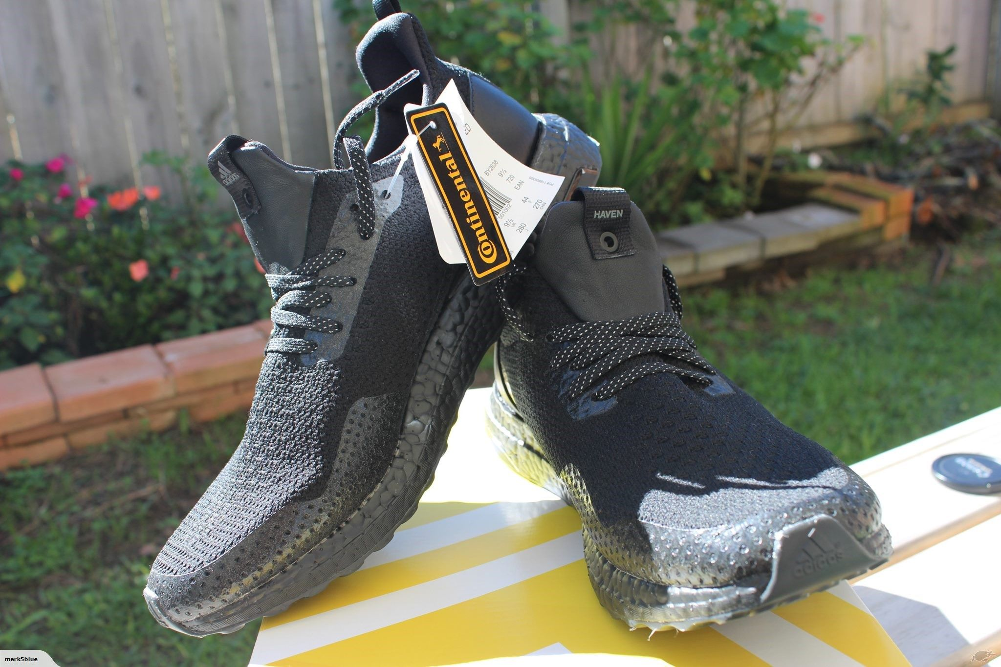 fc2df4cd8 HAVEN X ADIDAS ULTRABOOST TRIPLE BLACK UNCAGED