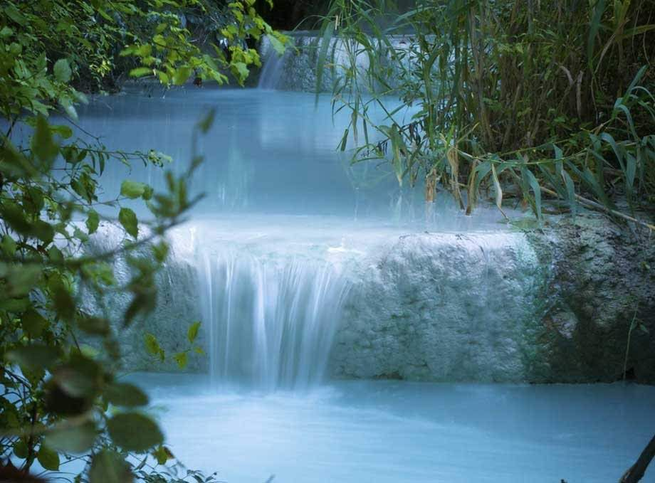 Fosso Bianco, Bagni San Filippo, Tuscany | Serenity | Pinterest ...