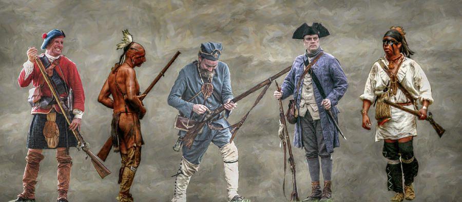 French Indian War | Iroqouis warrior film | Pinterest | Soldiers ...