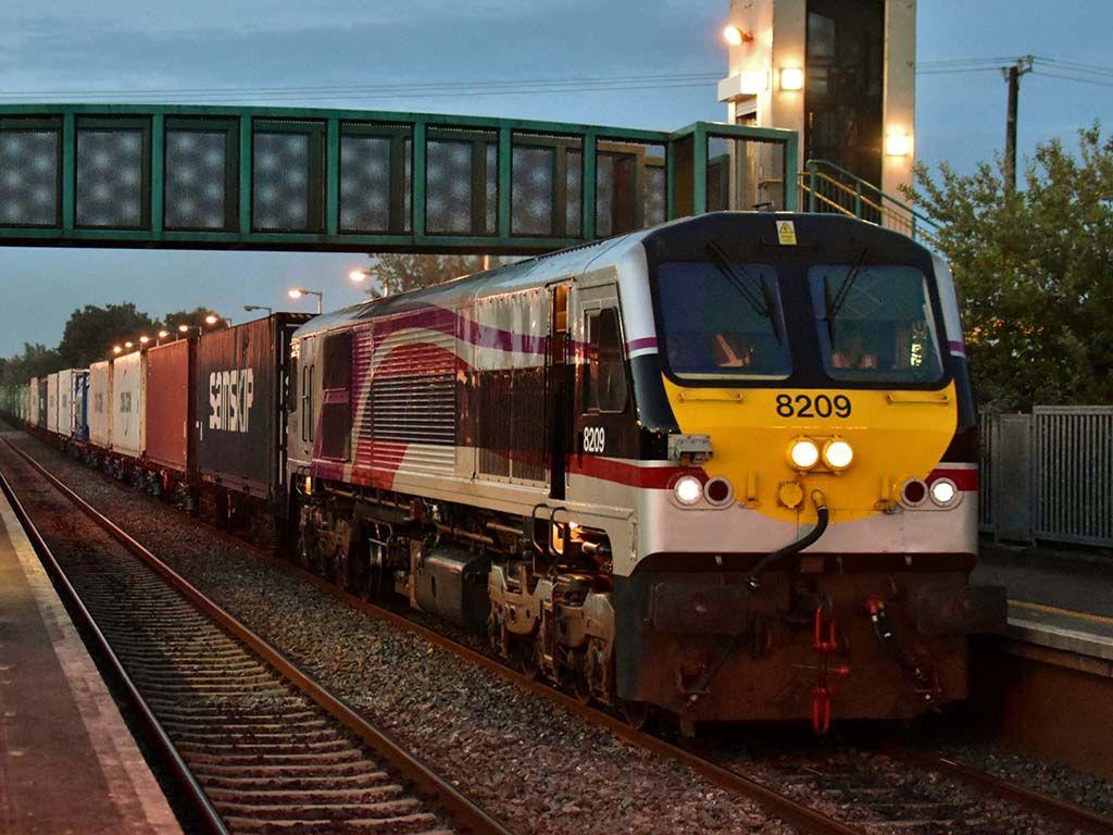 National railway Iarnród Éireann Diesel-Electric Locomotive