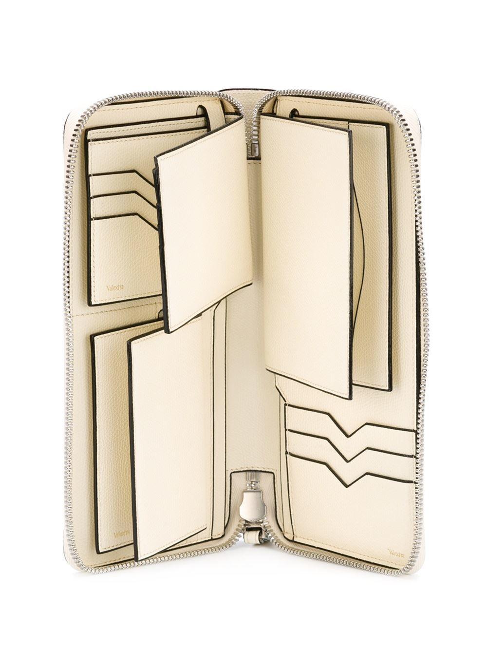 0ffeaefbe Lyst - Valextra Zip Around Wallet in Natural for Men Billeteras, Carteras, Cartera  Prada