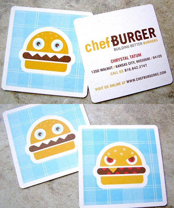 Chefburger S Cute Business Card