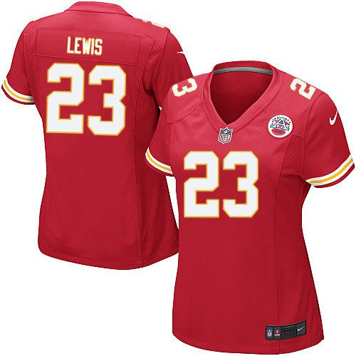 kansas city chiefs kendrick lewis jersey 23 limited nike red team color womens nfl jersey