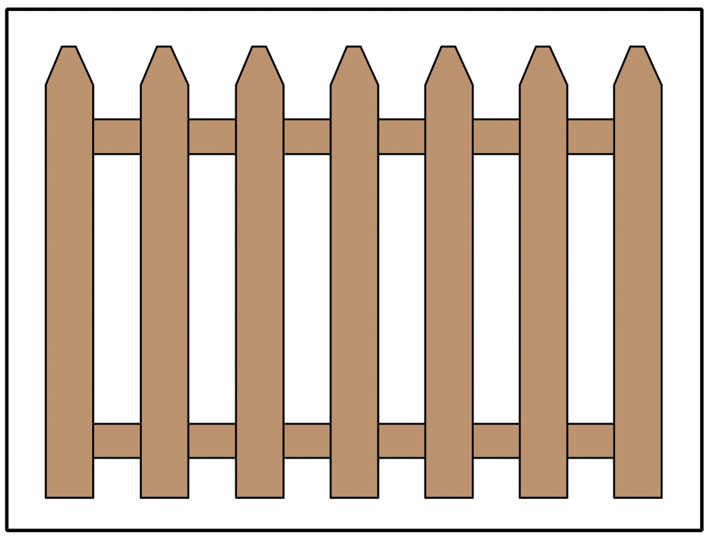15 Popular Fence Styles For Privacy And Picket Fences Inch Calculator Fence Styles Fence Design Wood Picket Fence