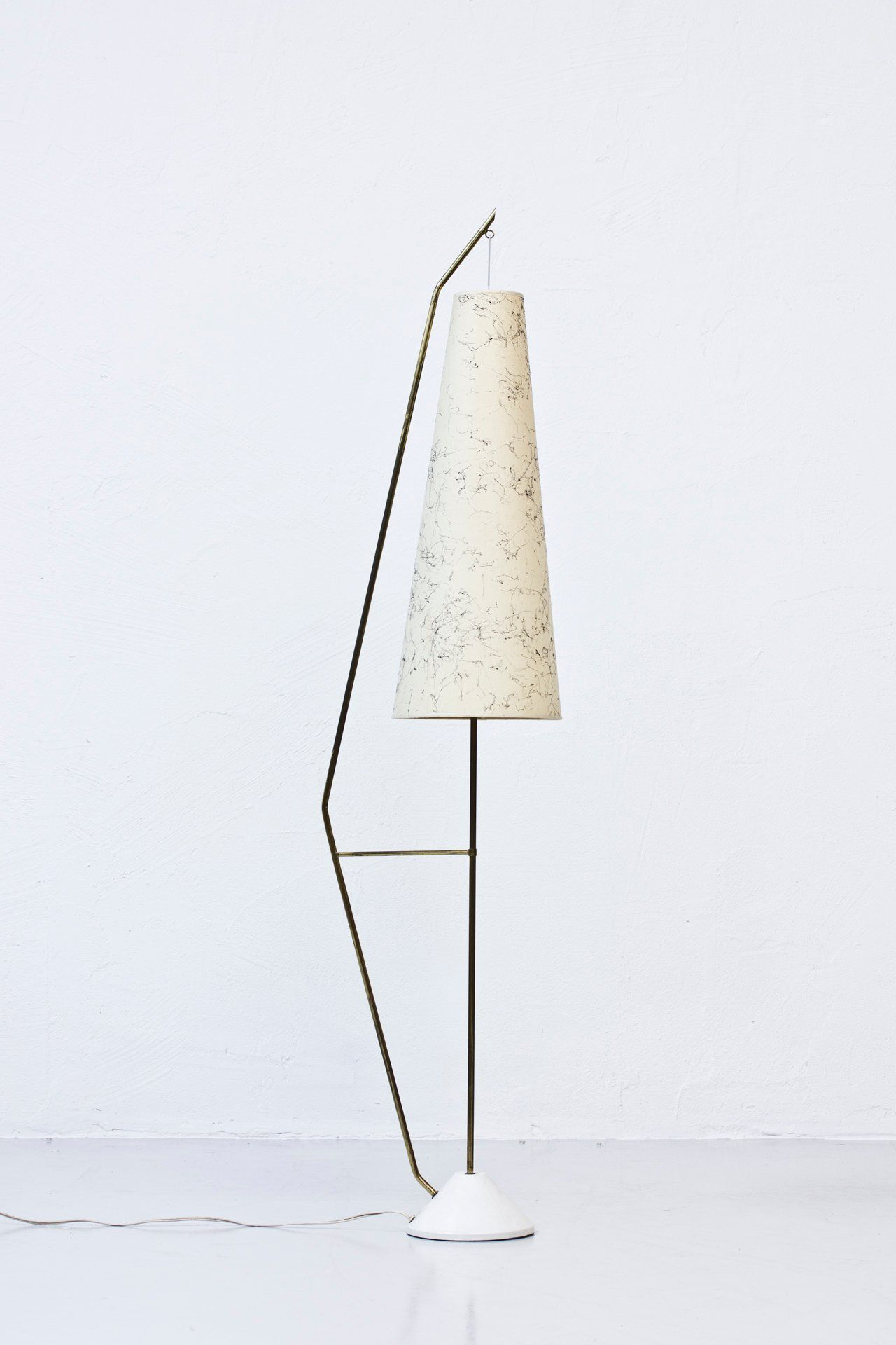 Modernist 1950S Floor Lamp By Modernisten Modernist Geometrical Floor Lamp