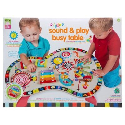 Alex Toys Alex Jr Sound And Play Busy Table Target Baby Activity Center Infant Activities Alex Toys
