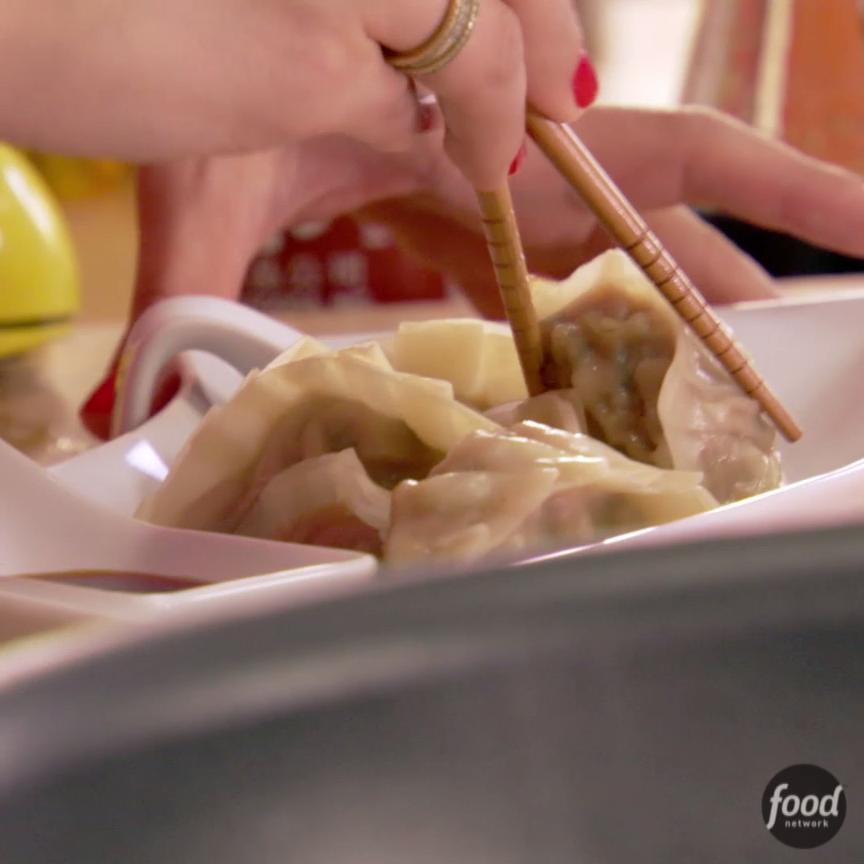 Pork dumplings recipe pork food and recipes pork dumplings korean food recipesfood network recipeschinese forumfinder Gallery