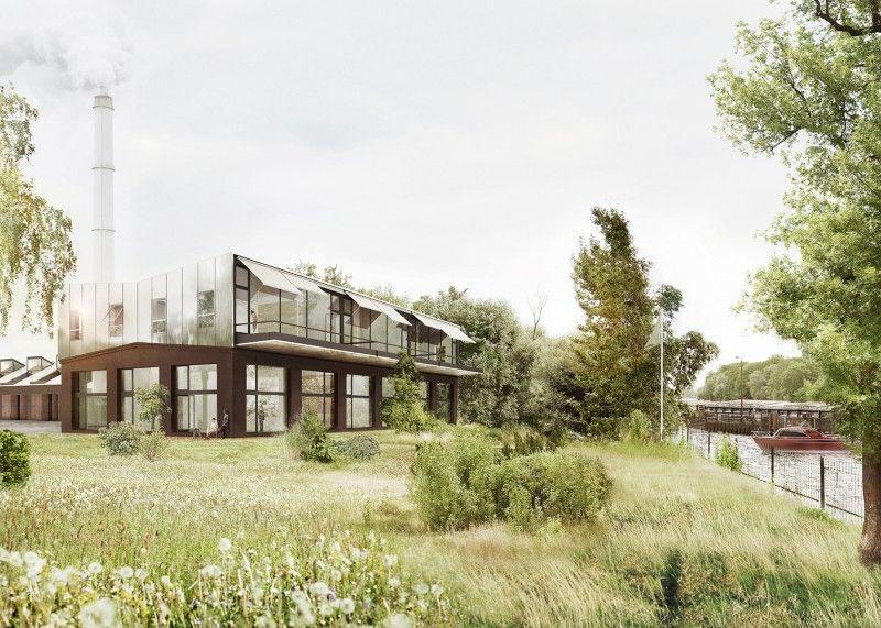 Thomas baecker bettina kraus spreestudios berlin 3d n a t u r e pinterest - Architekturvisualisierung berlin ...