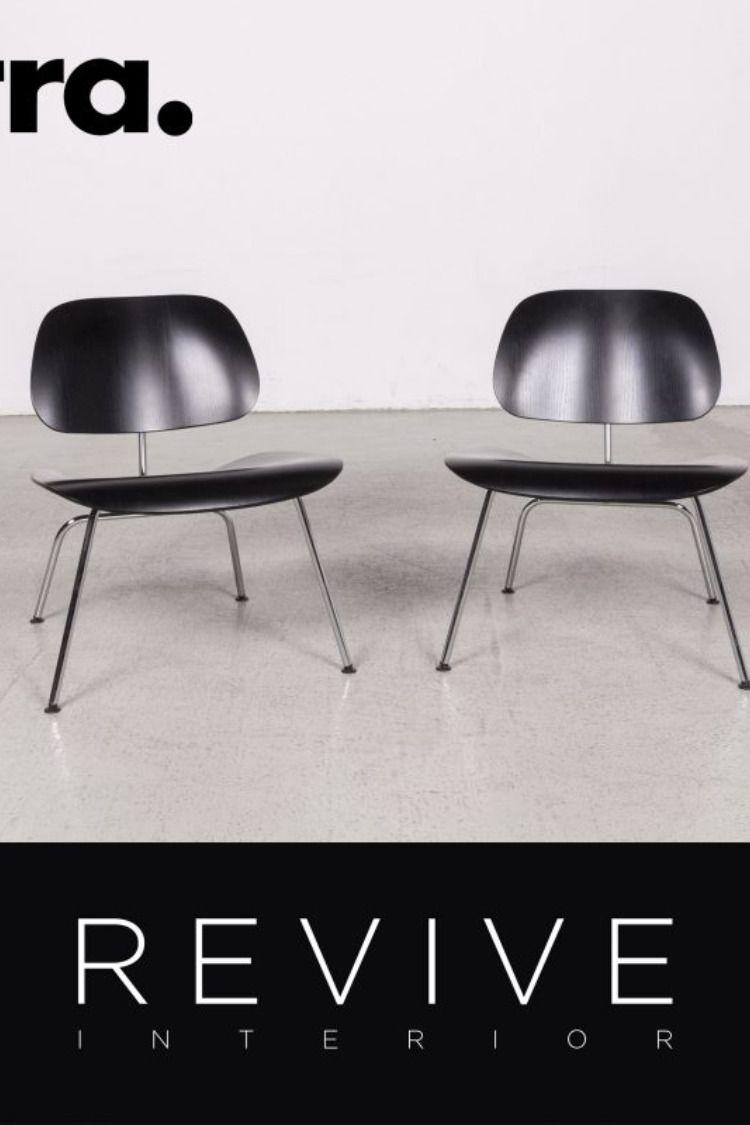 Vitra Plywood Group Designer Wohnzimmertische Sessel Schwarz Sessel