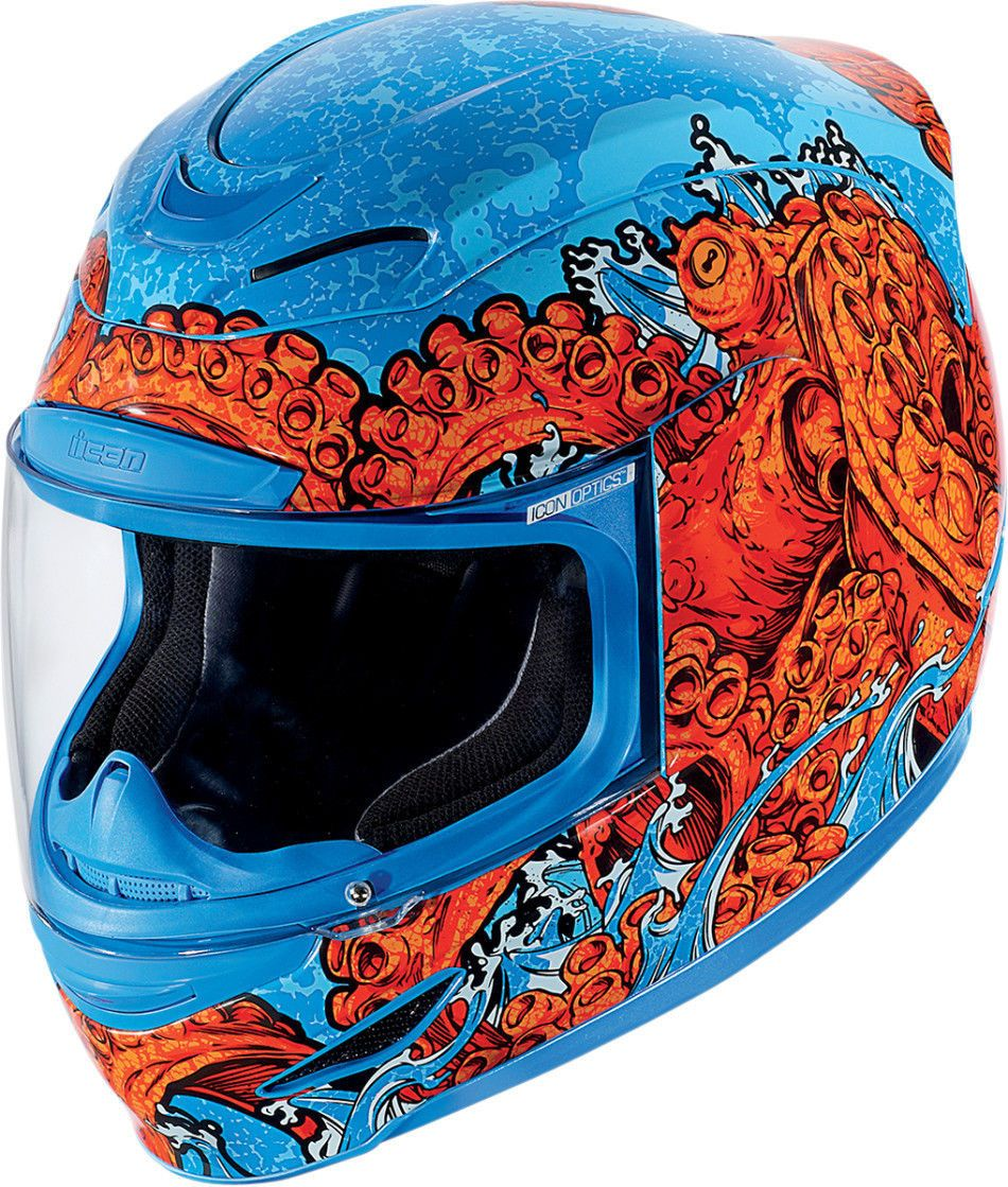 Icon Airmada Colossal Graphic Full Face Motorcycle Helmet