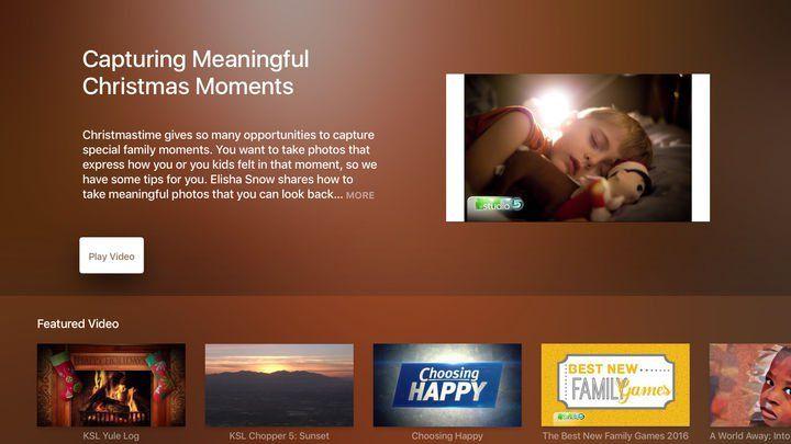KSL TV Apple TV App