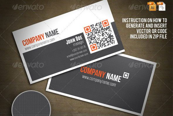 25 qr code business card templates pinterest business qr business card colourmoves