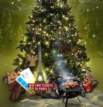 Christmas Quiz KLM con in palio biglietti aerei per Parigi