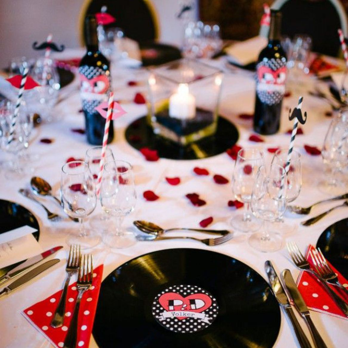 Table Rockabilly D Co Mariage Pinterest Rockabilly Mariage And Wedding